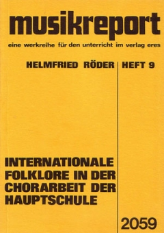 Internationale Folklore in der Chorarbeit...