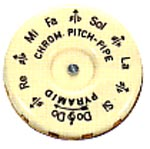Chromatic Pitch Pipe