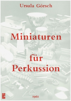 Miniaturen für Perkussion