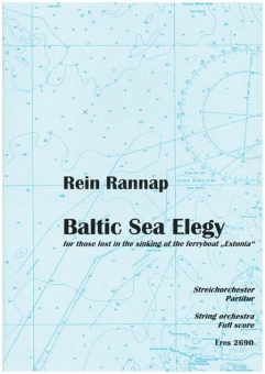 Baltic Sea Elegy (Partitur)